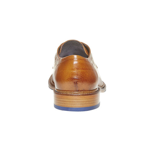 Scarpe basse di pelle da uomo bata-the-shoemaker, marrone, 824-3293 - 17