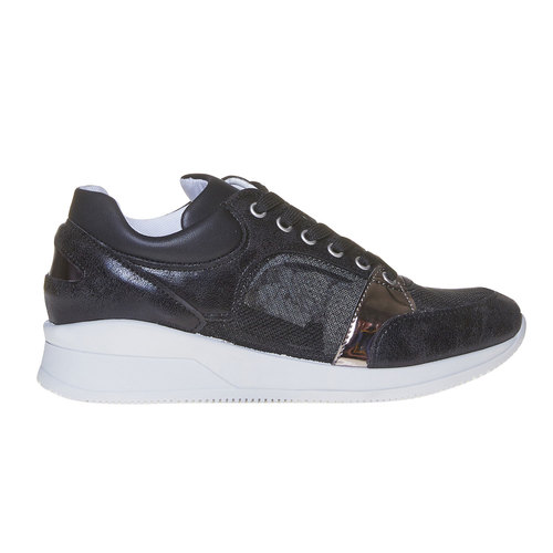 Sneakers nere da donna north-star, nero, 541-6205 - 15