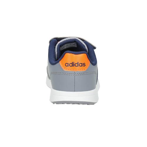 Sneakers da bambino con chiusure a velcro adidas, grigio, 109-2163 - 17