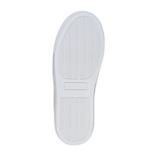 Slip-on argentate da ragazza mini-b, grigio, 329-2247 - 26