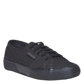 Sneakers nere da donna superga, nero, 589-6687 - 13