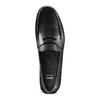 Mocassini in pelle bata, nero, 854-6178 - 17