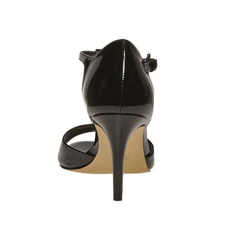 Sandali verniciati da donna con tacco insolia, 761-0259 - 17