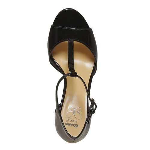 Sandali verniciati da donna con tacco insolia, 761-0259 - 19