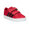 Sneakers rosse con chiusure a velcro adidas, rosso, 189-5119 - 13