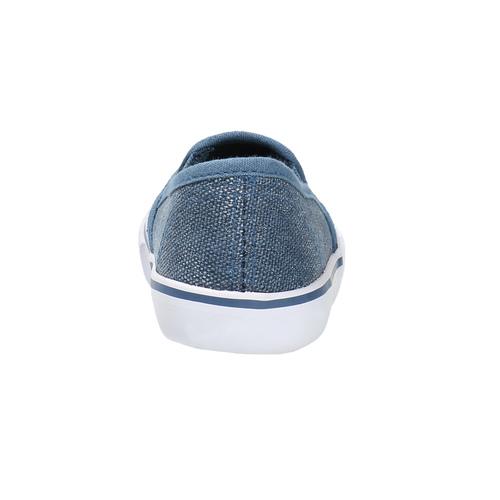 Scarpe da bambina in stile Slip-on, blu, 229-9193 - 17