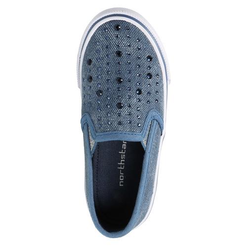 Scarpe da bambina in stile Slip-on, blu, 229-9193 - 19