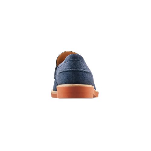 Mocassini da uomo bata, blu, 813-9163 - 15