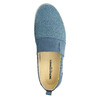 Slip-on in pelle blu weinbrenner, blu, 513-9263 - 19