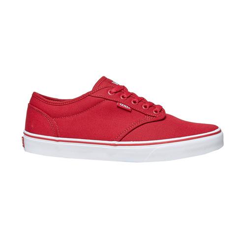 Sneakers rosse da uomo vans, rosso, 889-5560 - 15