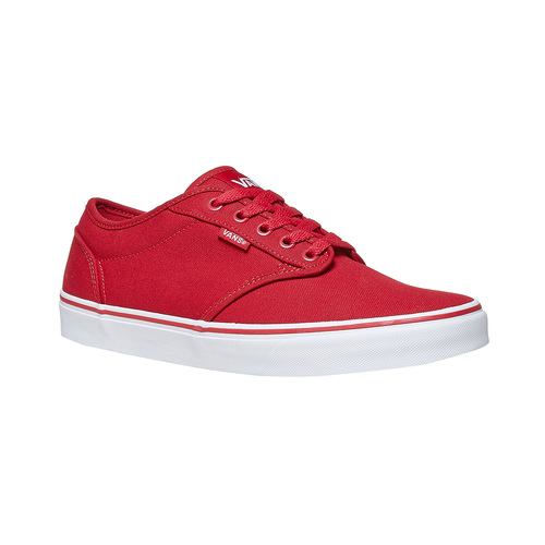 Sneakers rosse da uomo vans, rosso, 889-5560 - 13