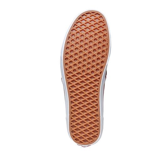 Sneakers rosse da uomo vans, rosso, 889-5560 - 26