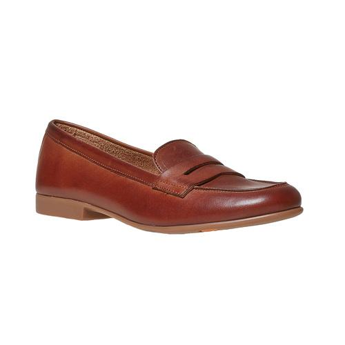 Penny Loafer di pelle flexible, marrone, 514-4280 - 13