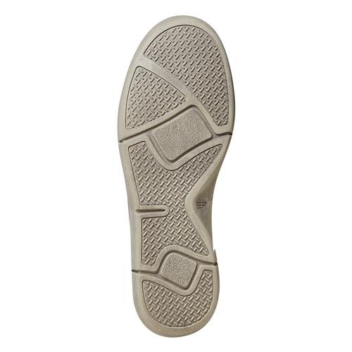 Scarpe basse casual da donna in pelle weinbrenner, grigio, 546-2201 - 26