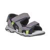 Sandali in pelle da bambino mini-b, grigio, 363-2198 - 13