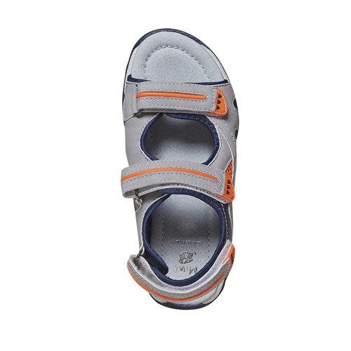 Sandali da bambino mini-b, grigio, 361-2221 - 19