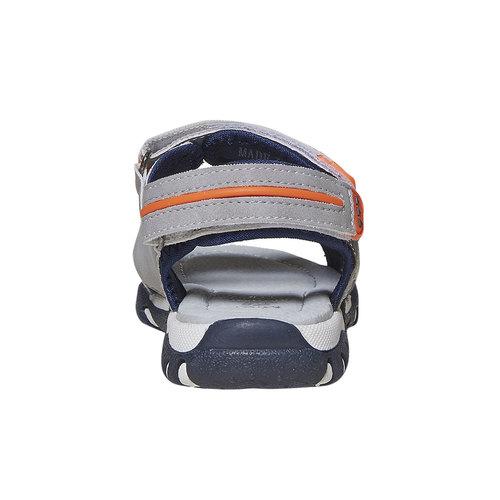 Sandali da bambino mini-b, grigio, 361-2221 - 17