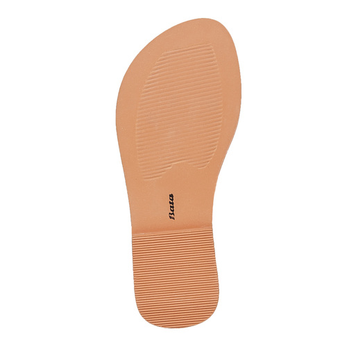 Sandali in pelle con strass mini-b, grigio, 364-2208 - 26