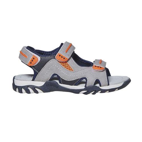 Sandali da bambino mini-b, grigio, 361-2221 - 15