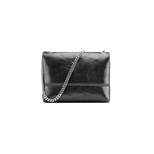 Mini-bag in pelle nera bata, nero, 964-6239 - 26