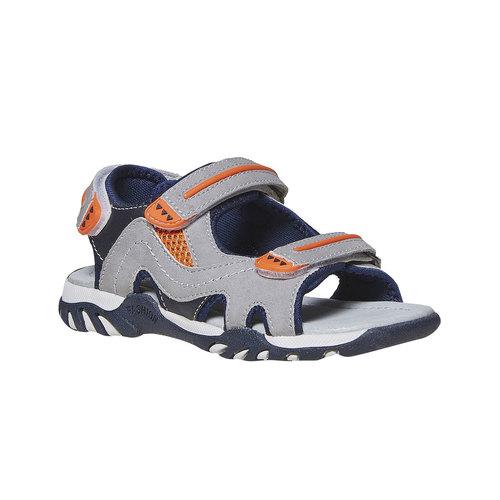 Sandali da bambino mini-b, grigio, 361-2221 - 13