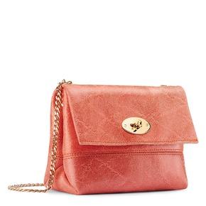 Minibag in vera pelle bata, rosso, 964-5239 - 13