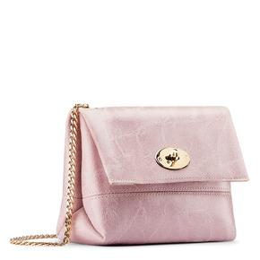 Minibag in vera pelle bata, rosa, 964-0239 - 13