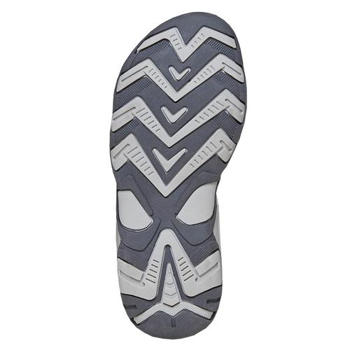 Sandali in pelle da bambino mini-b, grigio, 363-2198 - 26