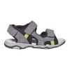 Sandali in pelle da bambino mini-b, grigio, 363-2198 - 15