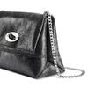 Mini-bag in pelle nera bata, nero, 964-6239 - 15