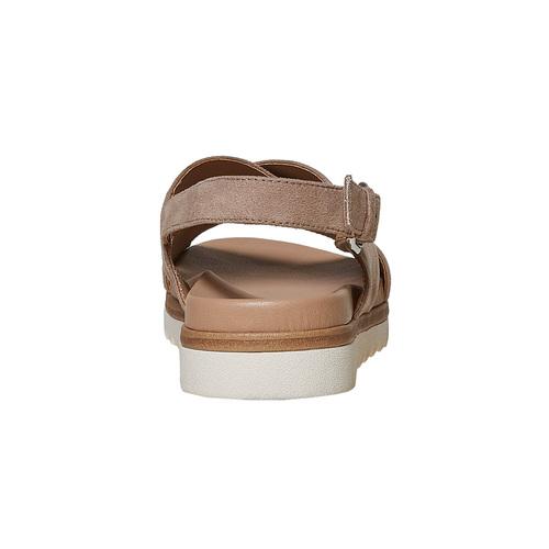 Sandali da donna con suola appariscente bata, beige, 569-2436 - 17