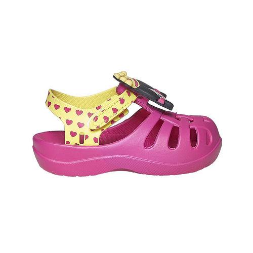 Sandali da ragazza con principessa ipanema, rosa, 172-5117 - 15