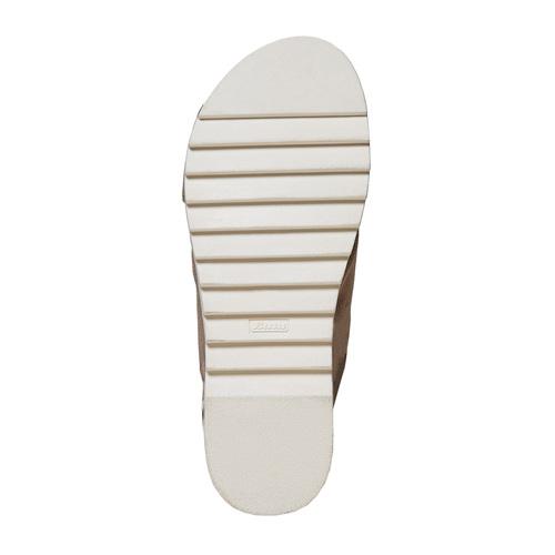 Sandali da donna con suola appariscente bata, beige, 569-2436 - 26