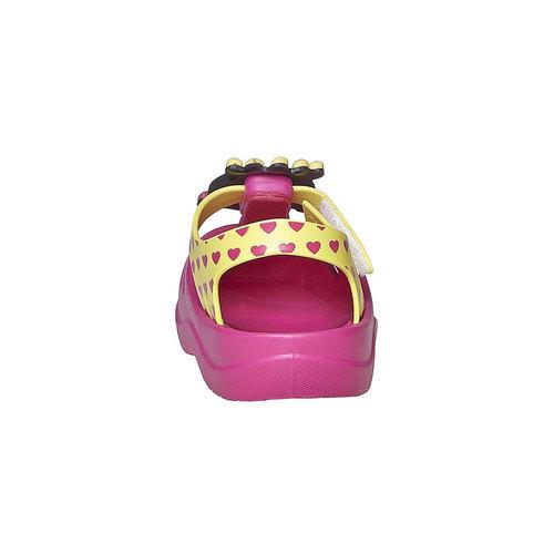 Sandali da ragazza con principessa ipanema, rosa, 172-5117 - 17