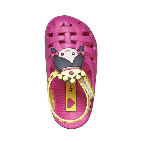 Sandali da ragazza con principessa ipanema, rosa, 172-5117 - 19