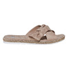 Slip-on marroni da donna bata, beige, 569-2413 - 15