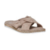 Slip-on marroni da donna bata, beige, 569-2413 - 13
