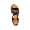 Sandali in pelle bata, nero, 564-6443 - 17