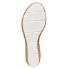 Slip-on da donna con plateau naturale bata, argento, 771-1104 - 26