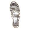 Slip-on da donna con plateau naturale bata, argento, 771-1104 - 19