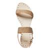Sandali dorati da donna bata, marrone, 561-3501 - 15