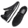 Sneakers nere con strass north-star, nero, 549-6294 - 19