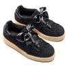 Sneakers nere con fiocco north-star, nero, 523-6484 - 19