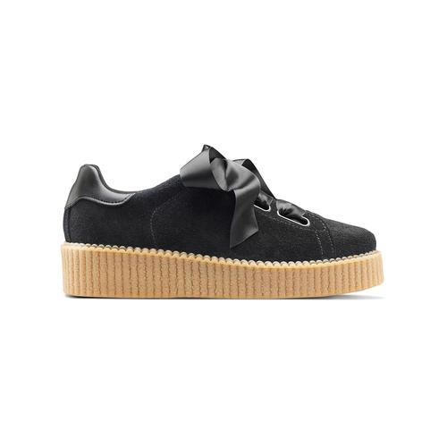 Sneakers nere con fiocco north-star, nero, 523-6484 - 26