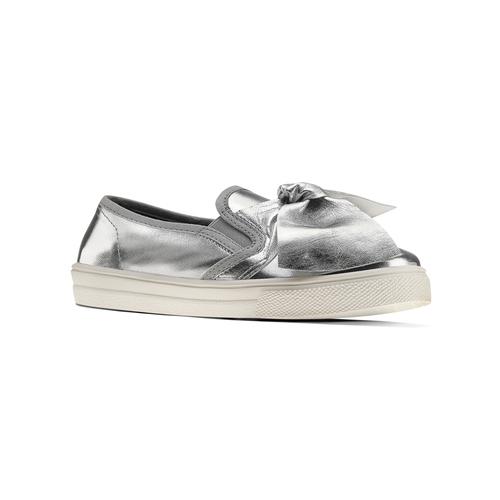 Slip-on silver con fiocco north-star, argento, 321-1311 - 13