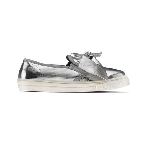 Slip-on silver con fiocco north-star, argento, 321-1311 - 26