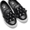 Sneakers bimba dettaglio rouches north-star, nero, 321-6142 - 26