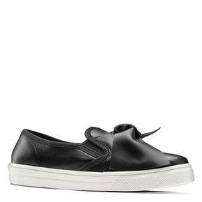 Sneakers nere con fiocco north-star, nero, 321-6311 - 13