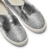 Sneakers silver metallizzate north-star, argento, 329-1305 - 19