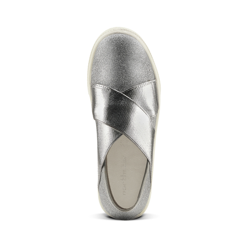 Sneakers silver metallizzate north-star, argento, 329-1305 - 15